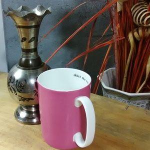 "LENOX Kate Spade Pink Mug ""Say The Word"""